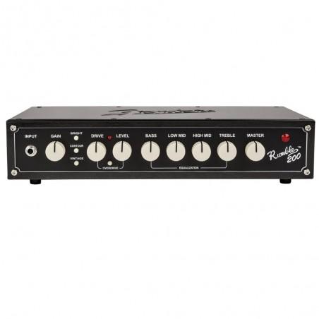 Fender RUMBLE 200 HD V3 Cabezal de bajo 200w