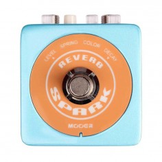 Pedal de efecto p;Guit. Reverb, con 2 modos: Room y Resorte