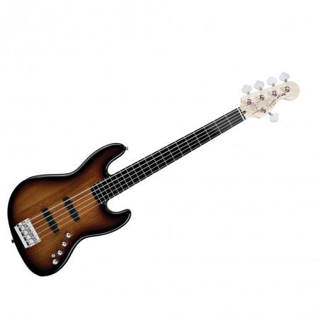 Jazz Bass Squier Deluxe Activo V 5 cuerdas