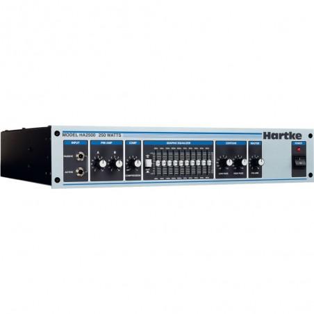 Hartke HA2500 cabezal para bajo 250 watts.