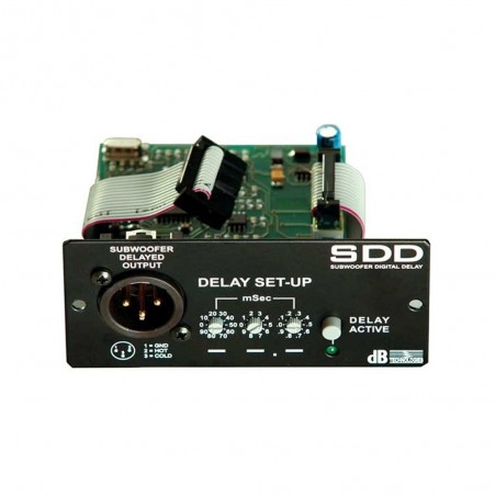 dB technologies DVA SDD Módulo de Delay para subwoofer S10 S20