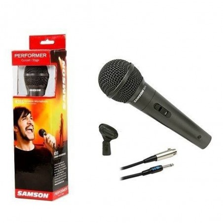 Samson PERFORMER-R31S microfono cardiode con switch.