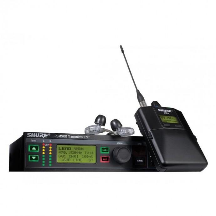 Sist Monit Intraural PSM900, c/auric SE425 P9TARRA425CL-G6