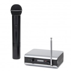 Sistema de micrófono inalámbrico STAGE166 vocal de mano VHF.
