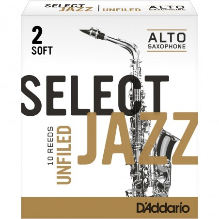 Cañas para saxo alto Select Jazz RRS10ASX2S