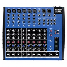 Mixer 10Ch, 6Micr;Instr + 2 St, 3Bd Eq , 2 env x Aux