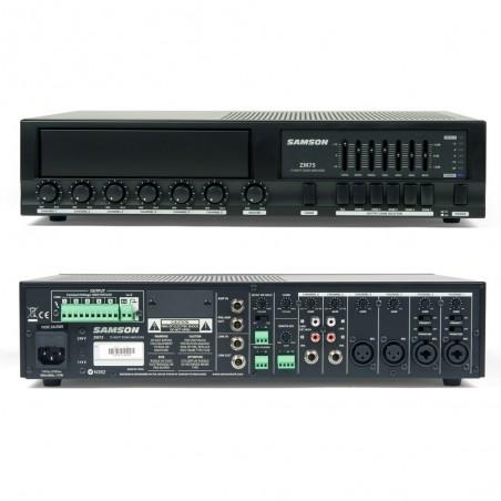 Mixer + amplificador ZM75 para instalación 75 W.