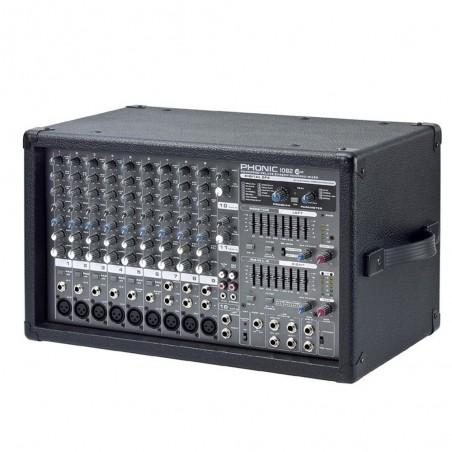 Mixer POWER1082P 10-Canales a 800W con DFX