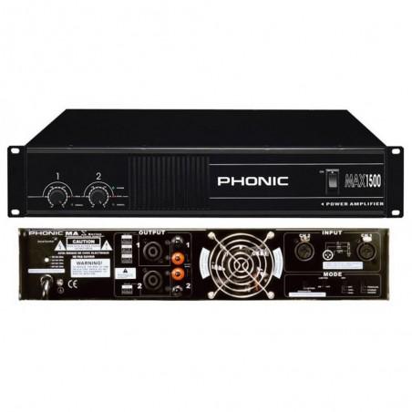 Amplificador de Potencia MAX1500