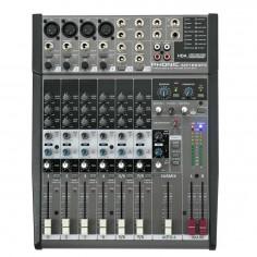 Mixer 4 Mic;Linea + 2 St, Eq 3Bd, Efectos,