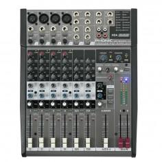 Mixer 4 Mic;Linea + 2 St, Eq 3Bd, Efectos, USB