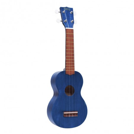 Ukelele Soprano MK1 Transparent Blue