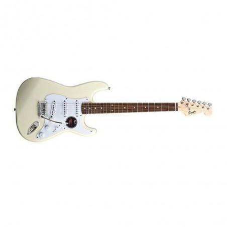 Guitarra eléctrica Stratocaster California Fat RWN, Artic White