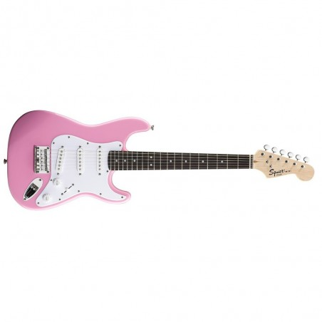 Guitarra eléctrica Stratocaster Mini RWN, Esc 20.75', SSS, Pink