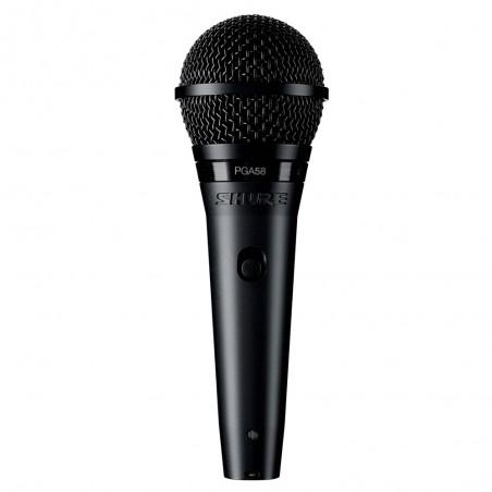 Micrófono Cardioide Dinámico PGA58BTS para Voces