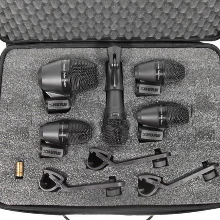 Set de Micrófonos PGADRUMKIT5 para Batería