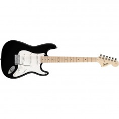 Guit. Elec. Stratocaster Squier Affinity MN, SSS, Black