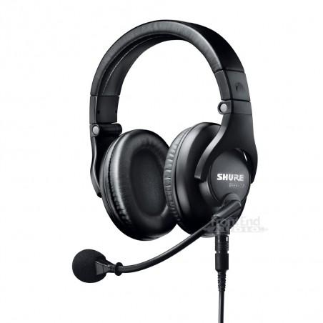 Micrófono de Diadema BRH440M con Dos Auriculares para Radiodifusión