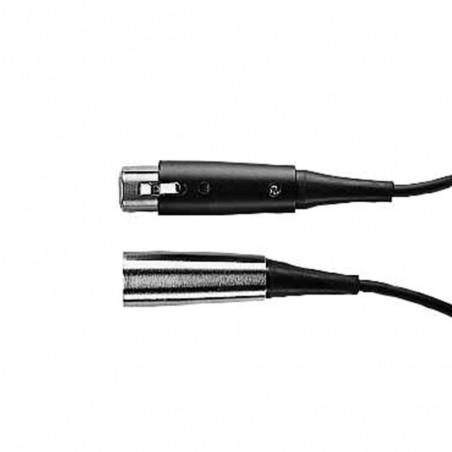 Cable para micrófono, Triple Flex®, XLR Cr / XLR Bk, 7.5m