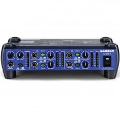 Amp para auriculares, de mesa, 4 entradas; 8 salidas