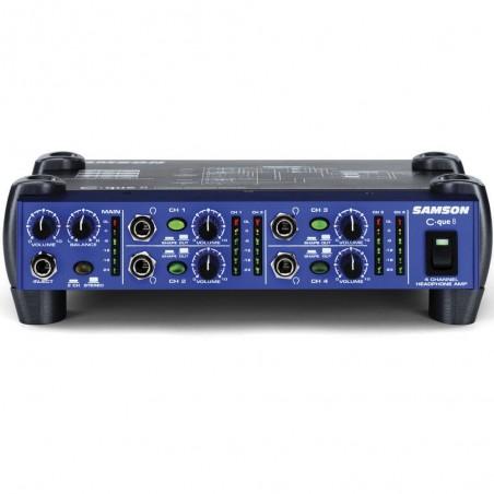 Samson CQ8 amplificador de auriculares 4 entradas/8 salidas.