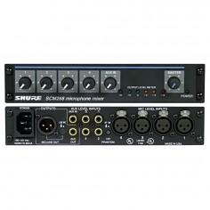 Mixer p;Instalacion, 10 canales,4XLR + 5 linea, salida XLR