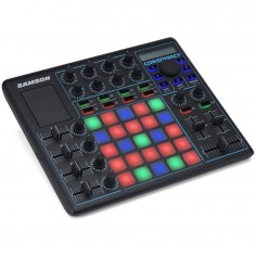 Controlador Midi;USB, 25 pads, 2 ch DJ c;crossfader, plug &