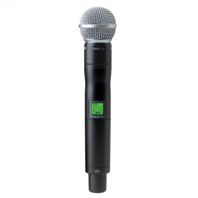 Transmisor inalámbrico vocal UR2/SM58-R9 SM58