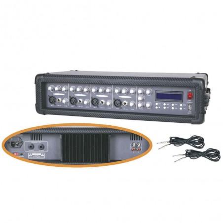 Blg MC 4150B mixer potenciado 4ch. 150 watts.