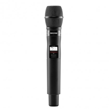 Micrófono Transmisor Inalámbrico de Mano QLXD2/KSM9HSG50 UHF, Digital, c/KSM9