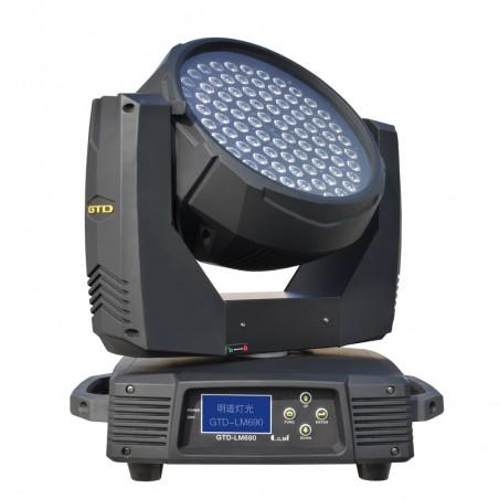 Cabezal Móvil WASH, LED 6W x 90u, RGB three-in-one,Lens angle: 50°, Beam angle: 50°, DMX/RDM, IP20