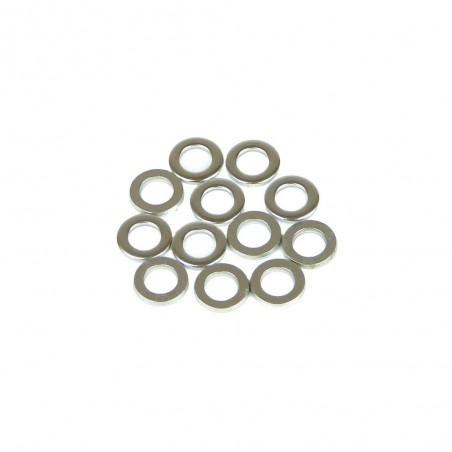 Arandelas de metal (x12)