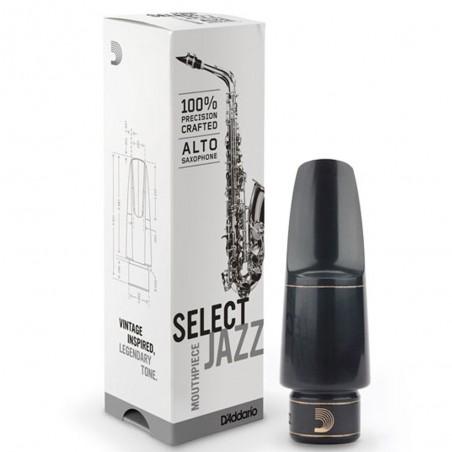 Boquilla para Saxo Alto D'Addario Select Jazz, D6M