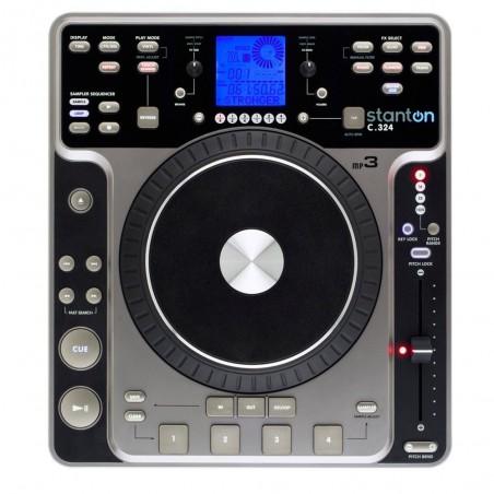 Stanton CD-MP3 PLAYER de mesa con sequencer y efectos.