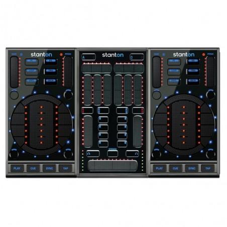 Stanton SUPERFICIE DE CONTROL DJ scs3