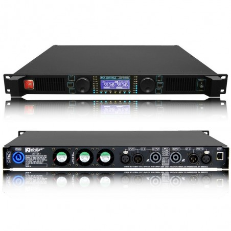Potencia Digital, 2 x1300/8. 2 x2100/4, DF500, c/control Ethernet XE-4000
