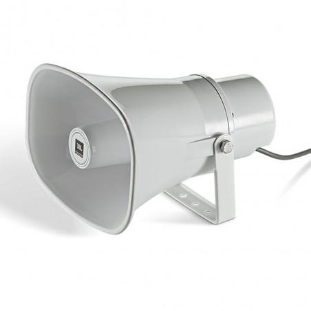 Bocina ABS Exterior IP65, Paging Horn, 15w, 50º/70º, 400 Hz – 7.5 kHz, 70/100v, c: Blanco