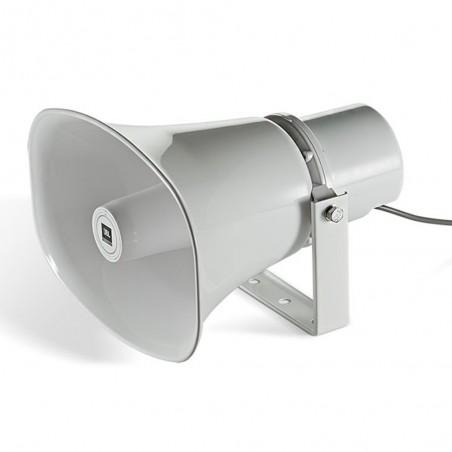 Bocina ABS Exterior IP65, Paging Horn, 30w, 50º/70º, 380 Hz – 6 kHz, 70/100v, c: Blanco
