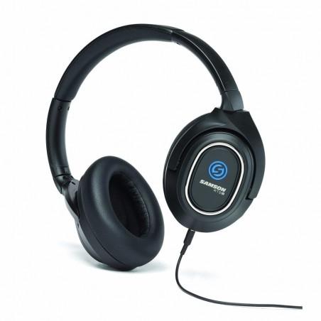 Auriculares c/Cancelador de Ruido Activo (ANC), 40MM, cable removible, estuche de lujo, c: BK