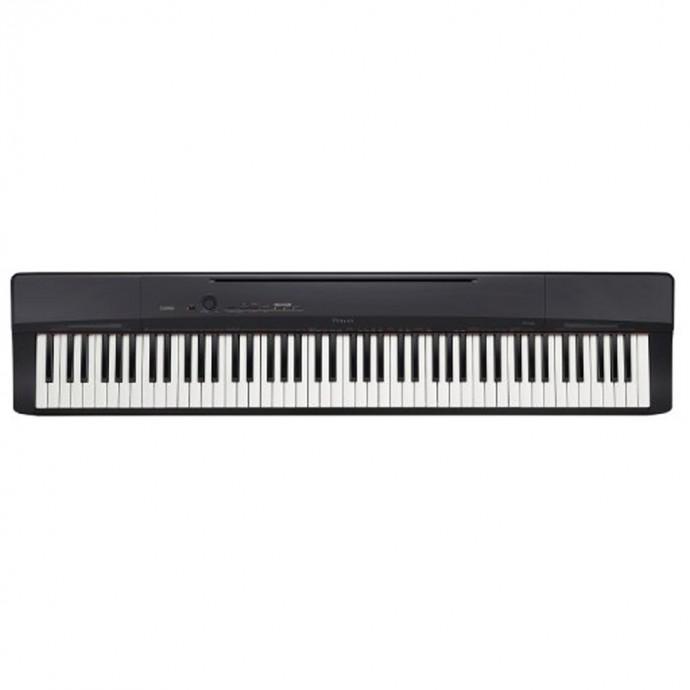 Piano Digital PRIVIA,88t, acc./martillo Tri-sensor II,128polif,18s, 60m, AIR, REC, USB, 1 pedal c:BK