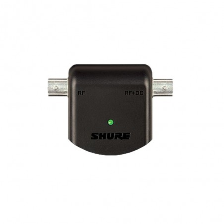 Adaptador en línea c/salida de 12V p/antenas activas, Compatible c/UA874/UA830,Incl Fuente Alimentac