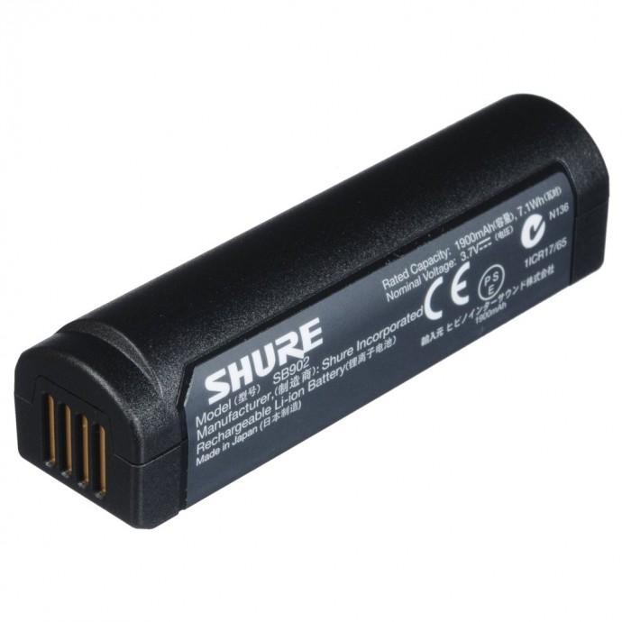 Batería Recargable p/Sist GLXD, Litio-ION, Hasta 16hs c/1 carga, 2500 ciclos de carga completa