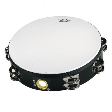"""Tambourin 8"""", Sonajas Simples, MELINEX, ECONOMY. c: White"""