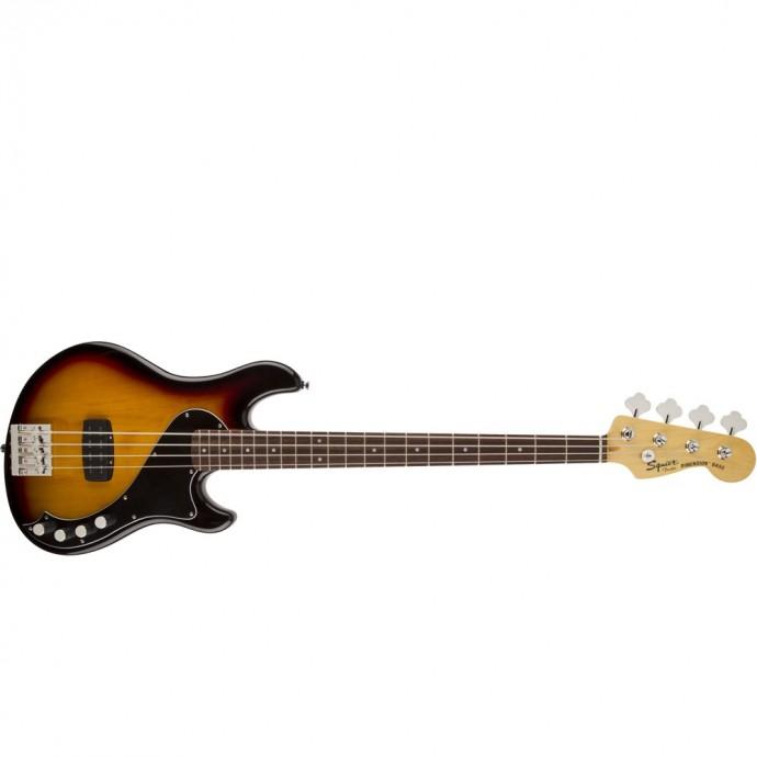 Bajo Elec. Deluxe Dimension Bass IV MN, 1 x Hum, Sunburst