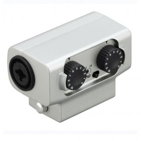 Adaptador externo XLR/TRS para H5 y H6, 2 in XLR/TRS, 2 x 5V Pre Amps, 2 pad -20dB