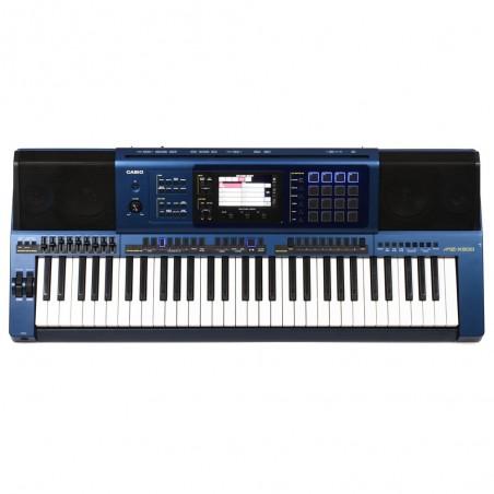 Teclado alta gama MZ-X500 61 teclas con sensibilidad al tacto, 128 polifonías 1100 tonos y 330 ritmos 20 W+20 W