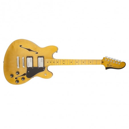 fender starcaster modern player natural 024-3102-521