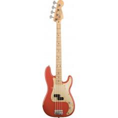 Bajo Elec. Precision Bass 50's Road Worn, MN, c/Funda, Fiesta Red
