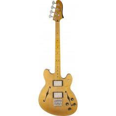 Bajo Elec. Starcaster Bass MN, 1;2 caja, 2 x HB, Natural