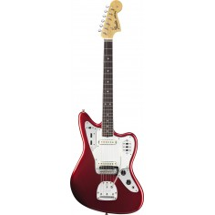 Guit. Elec. Jaguar American Vintage 65 RWN, c/Estuche, Candy Apple Red